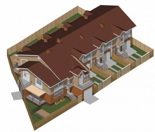 Блоковані житлові будинки в м києві